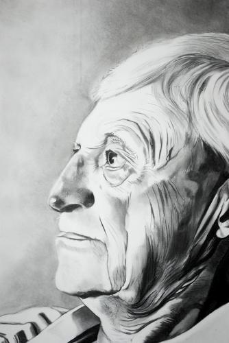 Artwork Pensive man