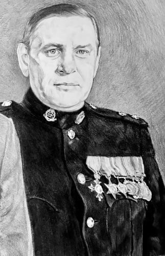 Artwork Military portrait