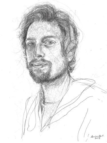 Artwork Jesse sketch