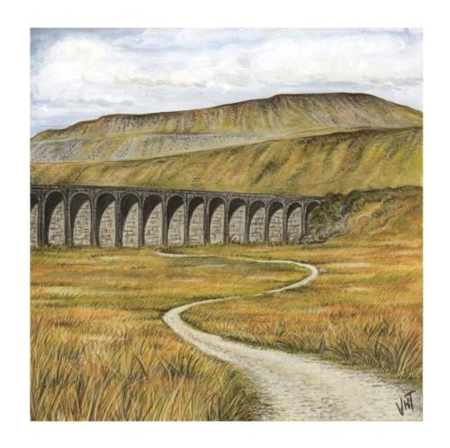 Pen-y-ghent by Vicky - Use the 'Create Similar' button to commission an artist to create your own artwork.