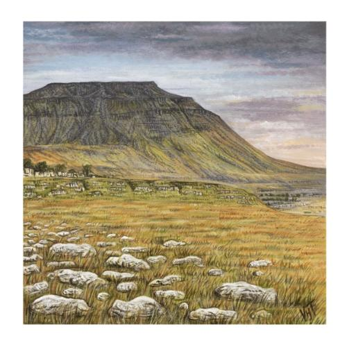 Whernside by Vicky - Use the 'Create Similar' button to commission an artist to create your own artwork.