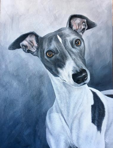 Benji by Vicky - Use the 'Create Similar' button to commission an artist to create your own artwork.