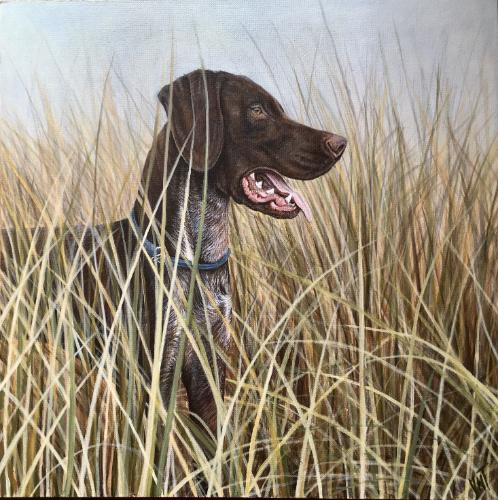 Artwork German Pointer