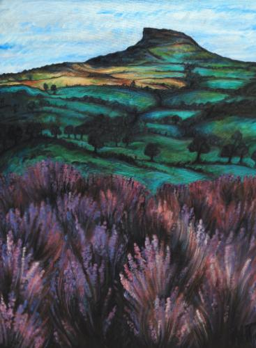 Artwork Roseberry Topping in Late Summer