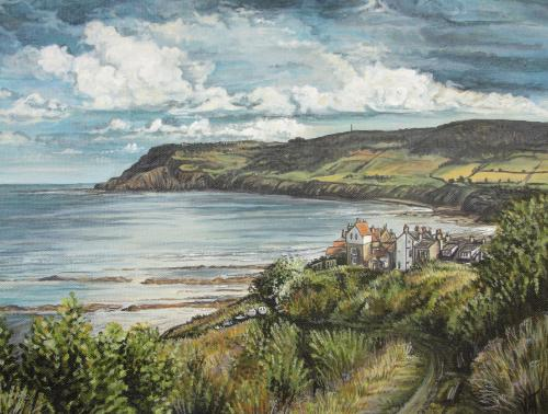Artwork Robin Hoods Bay