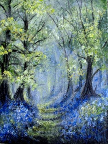 Artwork Bluebell Woods