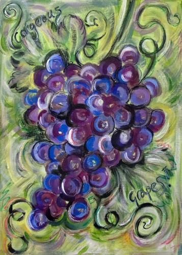 Artwork Gorgeous Grapes