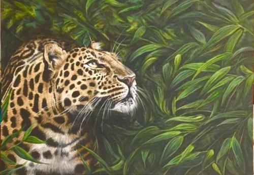 Artwork Amur Leopard