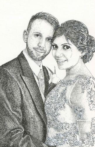 Artwork Oxford Wedding