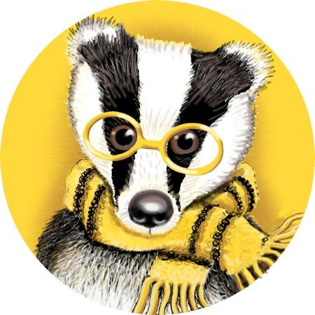 Artwork Yellow Badger