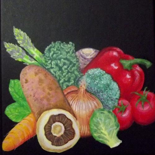 Artwork Vegetables