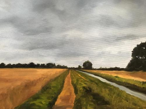 Artwork Lincolnshire study.