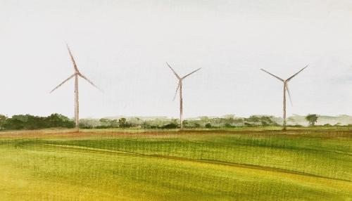 Artwork Wind Turbines