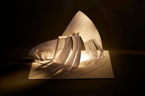 Artwork Futuristic structure