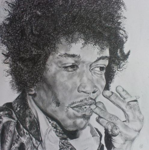 Artwork Jimmy Hendrix