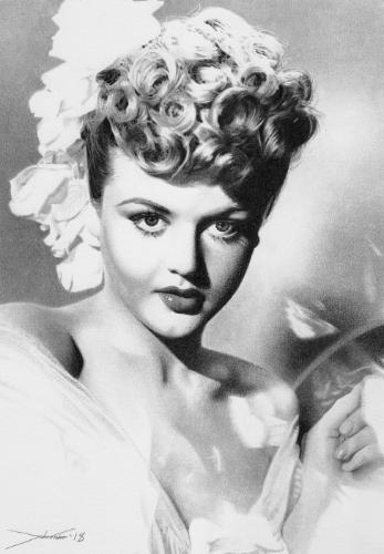 Angela Lansbury by JohnF - Use the 'Create Similar' button to commission an artist to create your own artwork.