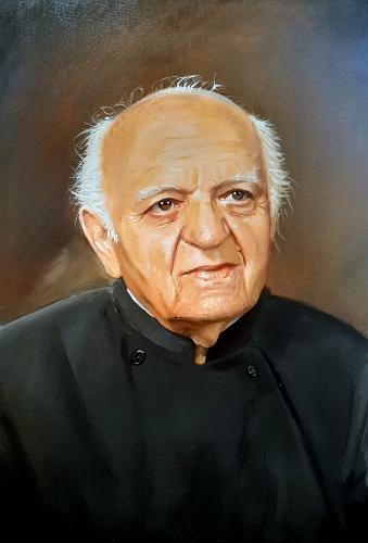 Artwork Portrait of a Priest