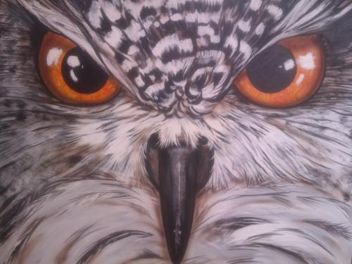 Hoot by Philip - Use the 'Create Similar' button to commission an artist to create your own artwork.
