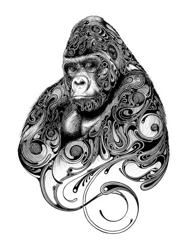 Harambe by Conor - Use the 'Create Similar' button to commission an artist to create your own artwork.