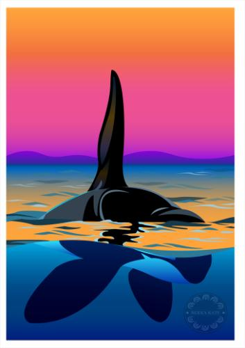 Artwork Lone Orca