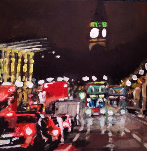 Artwork Whitehall Night