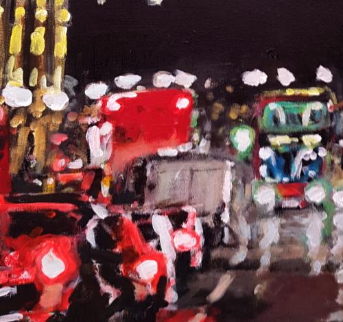 Whitehall Night by artistmitch74 - Use the 'Create Similar' button to commission an artist to create your own artwork.