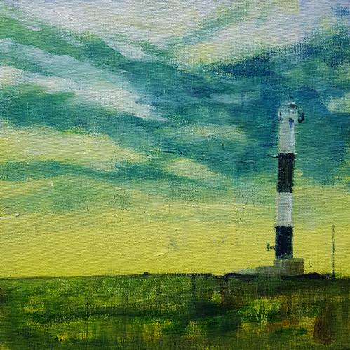 Artwork Dungeness Lighthouse