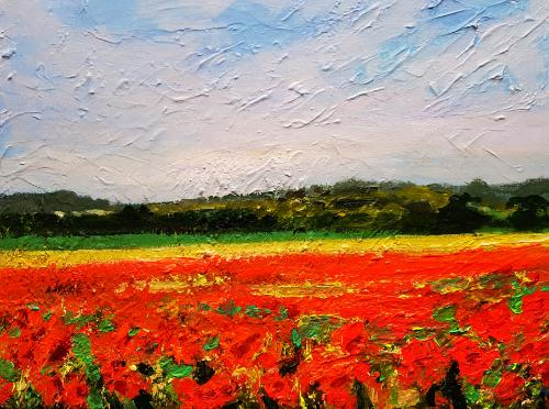 Poppies by artistmitch74 - Use the 'Create Similar' button to commission an artist to create your own artwork.