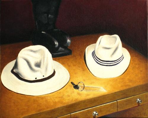 Artwork Wherever I lay my hat