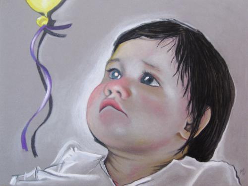 Artwork Lila's 1st birthday