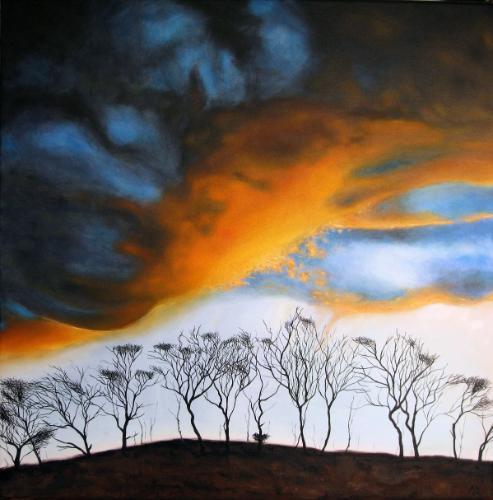 Artwork Approaching dusk near Uppertown