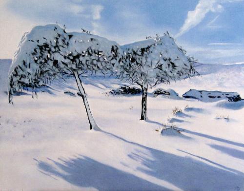 Artwork Snow trees I