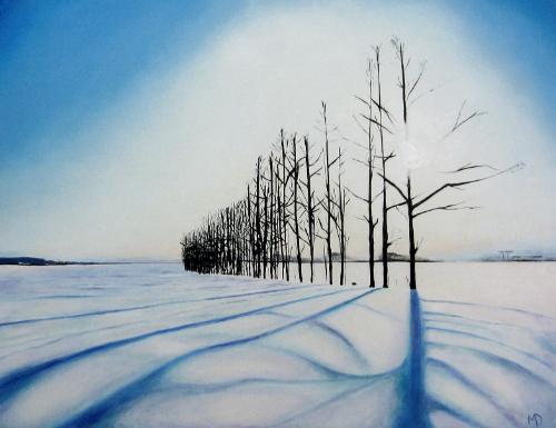 Artwork Snowtrees II