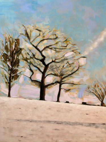 Artwork Snow trees III
