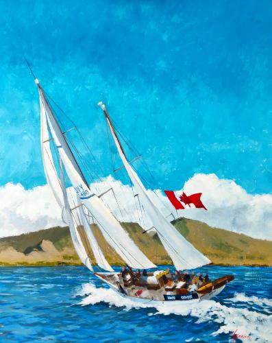 Approach to Maui by GrahamT - Use the 'Create Similar' button to commission an artist to create your own artwork.
