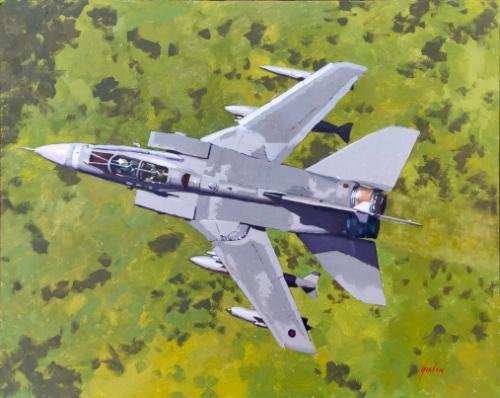 Artwork Tornado GR4 in the Mach Loop