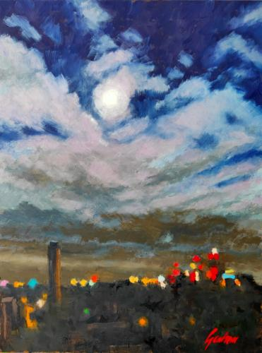 Artwork Moonlit Vienna
