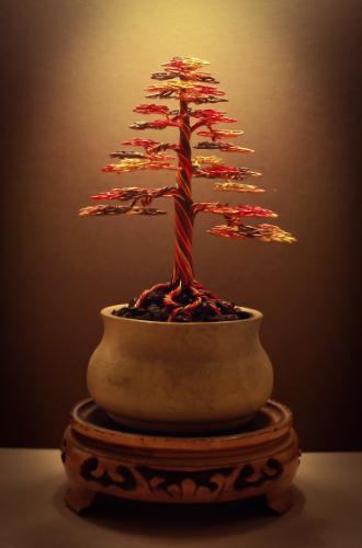 Artwork #15 - An Autumn inspired 'formal upright' tree