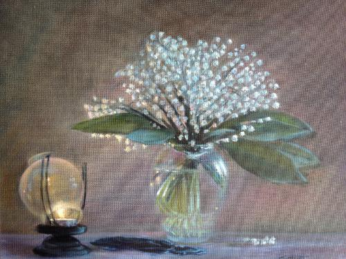 Artwork Lilies of the valley (Sold)