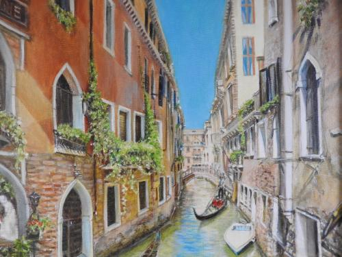 Streets of Venice by TatianaW - Use the 'Create Similar' button to commission an artist to create your own artwork.