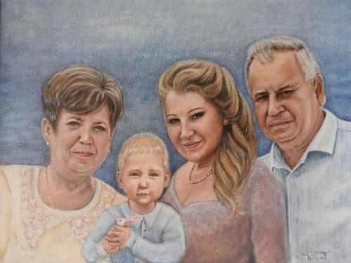 Artwork Family portrait (Sold)