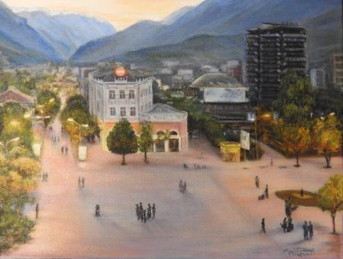 Kosovan landscape (Sold) by TatianaW - Use the 'Create Similar' button to commission an artist to create your own artwork.