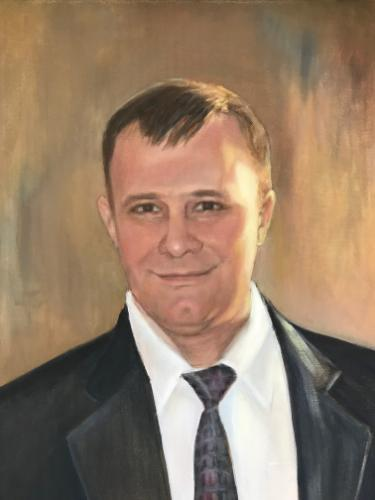 Artwork Portrait of Vladimir Merkulov