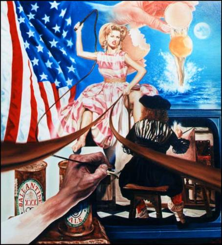 Artwork Allegory of Painting American Dreams