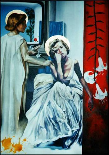 Artwork Ecce Ancilla Domini