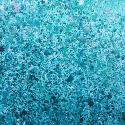 Turquoise Radiance by Lucy - Use the 'Create Similar' button to commission an artist to create your own artwork.
