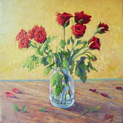 Artwork Red Roses