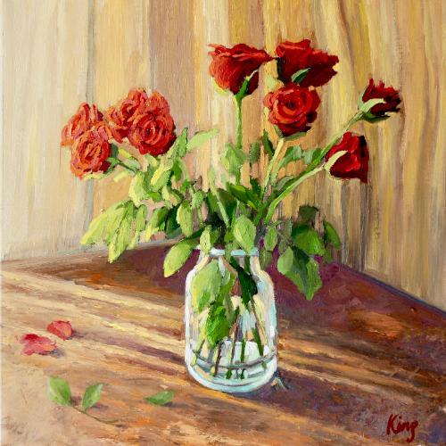 Artwork Red Roses.