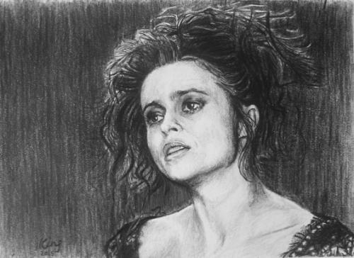 Artwork Helena Bonham Carter