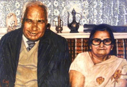 Artwork Beeji and Bauji